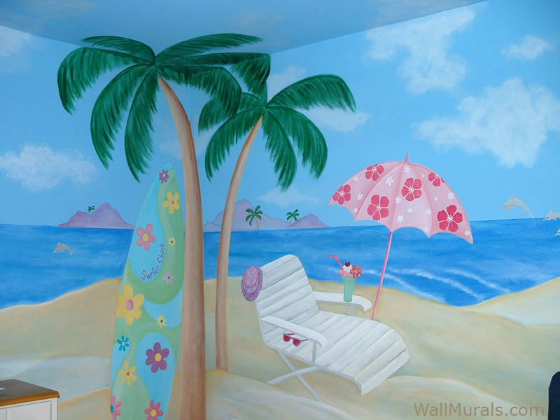 Ocean Wall Murals Beach Themed Murals Undersea