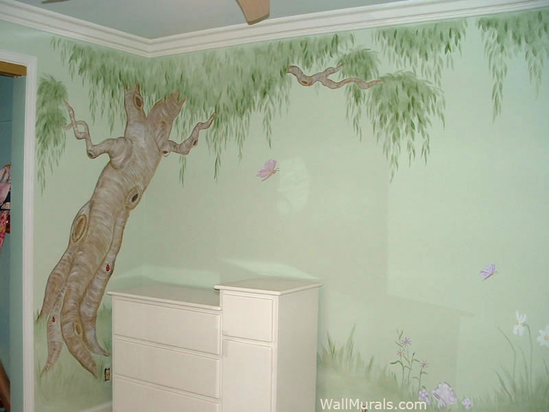 Leaning Tree Mural