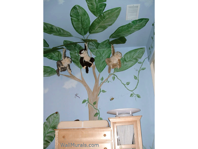 Jungle Tree Wall Mural