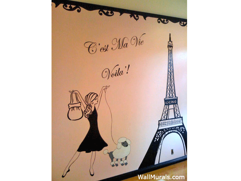 Awesome Hand Painted Wall Murals By Colette Part 20