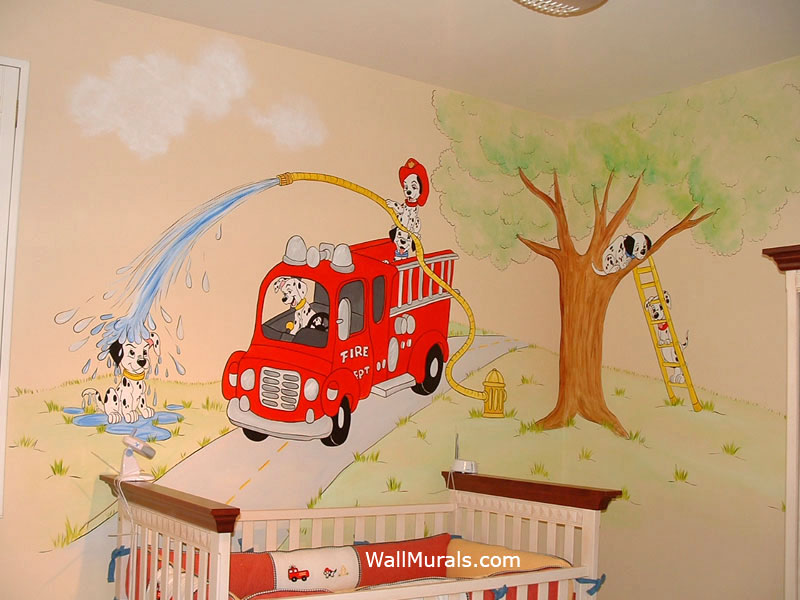 Hand Painted Wall Murals By Colette Part 34