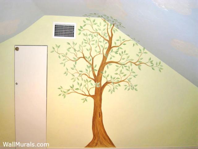 Ficus Tree Mural
