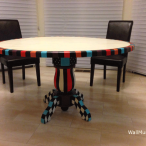 Hand-Painted Kitchen Table
