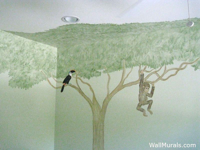 Serengeti Tree Wall Mural