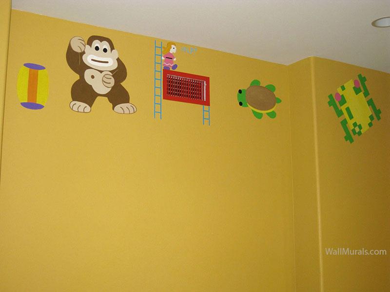 Donkey Kong - Frogger Wall Mural