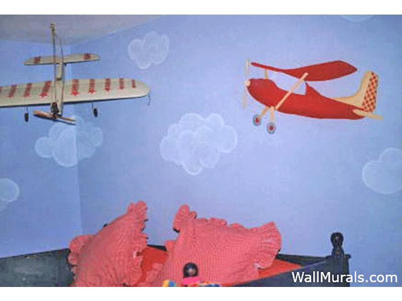Airplane Wall Mural