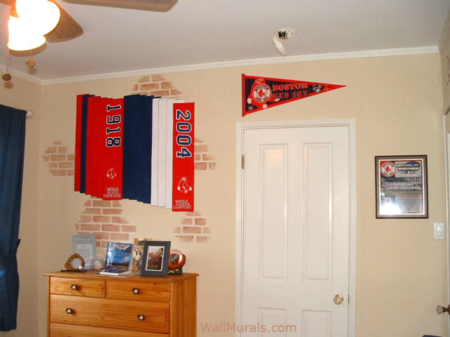 Painted Baseball Banners