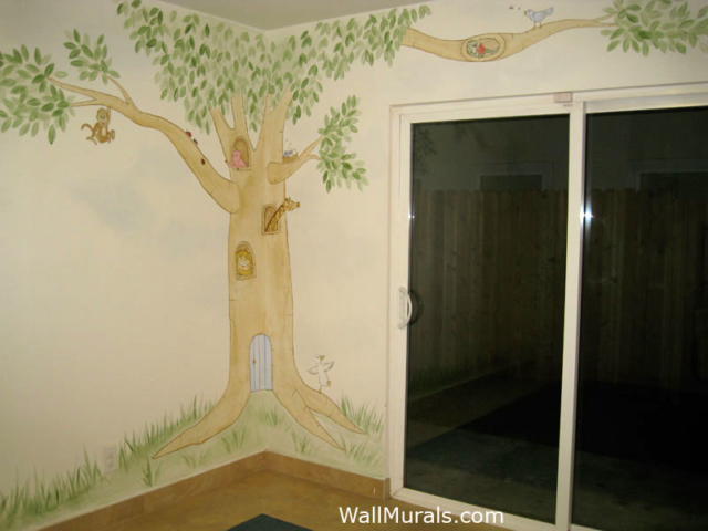 Tree Mural in Daycare