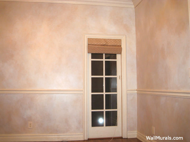 Faux Rubbed Walls