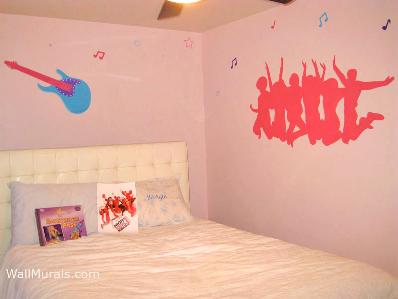 Music Wall Murals Exampleswall Murals By Colette