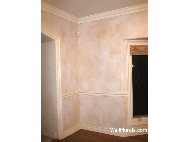 Vintage Painted Faux Walls