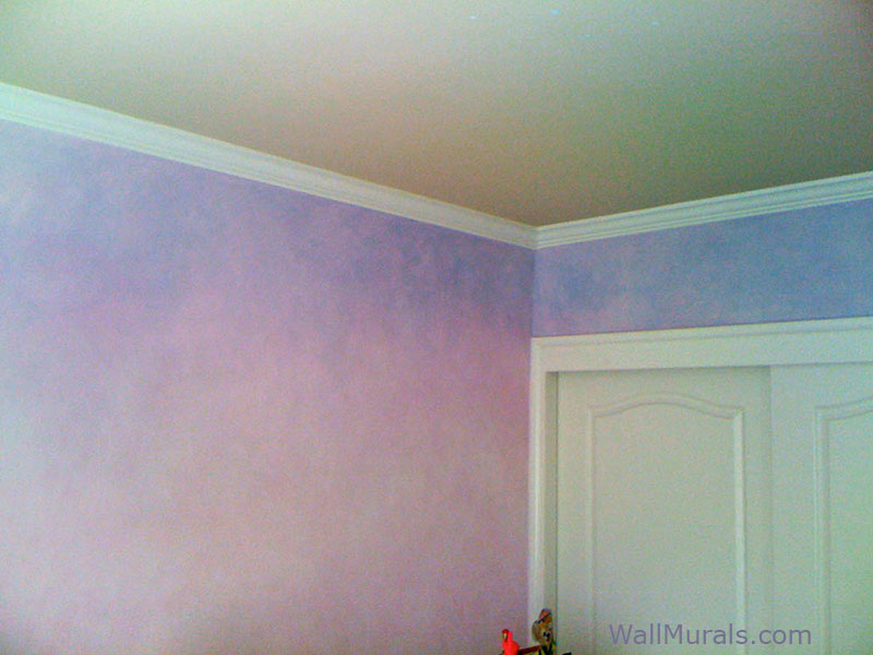 Faux Wall Finishes Examples Of Hand Painted Wall