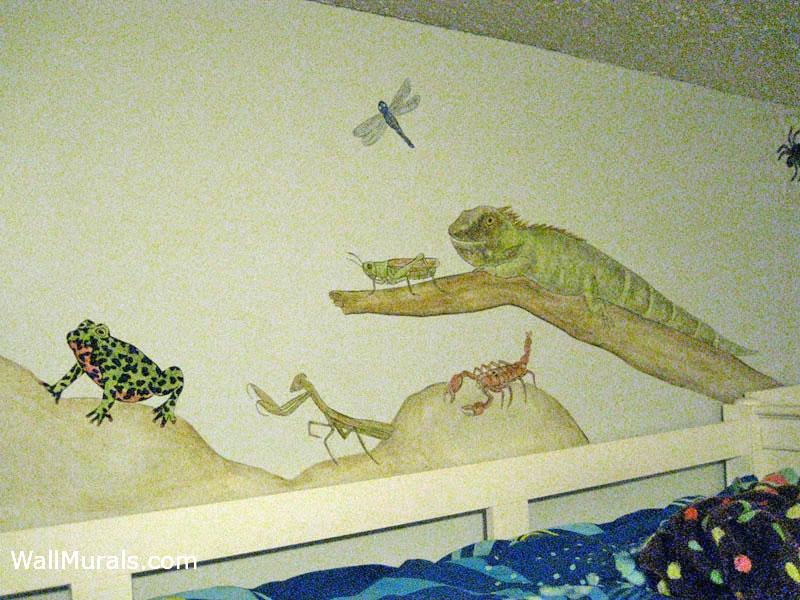 Reptile Wall Mural