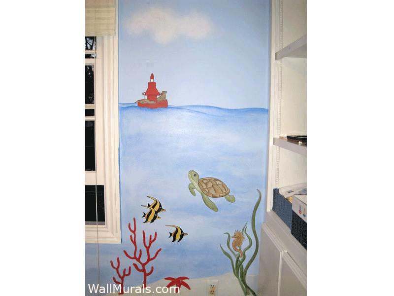 Undersea Wall Mural