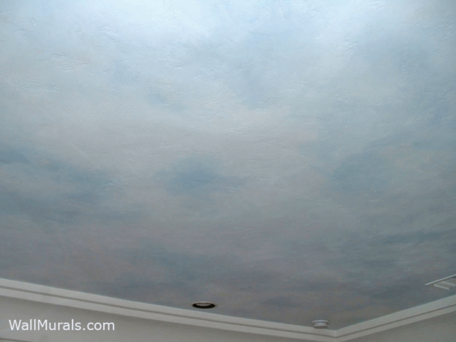 Painted Sky Ceiling - Clouds