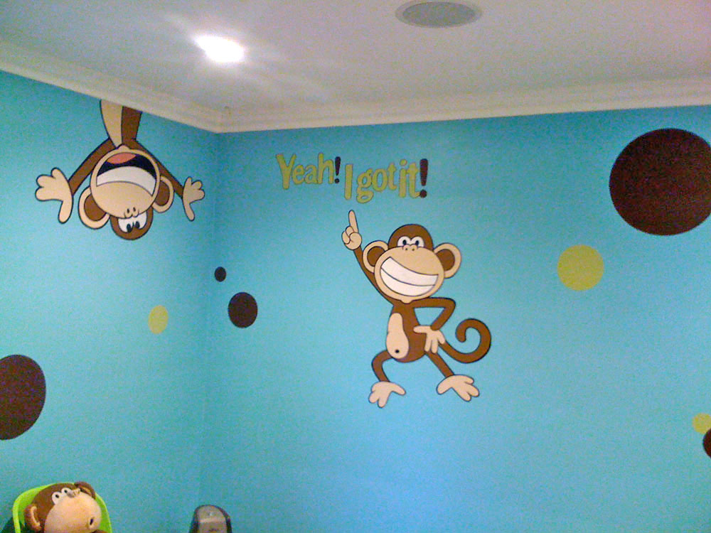 Wall murals for teens tweens examples of wall murals for Mural examples