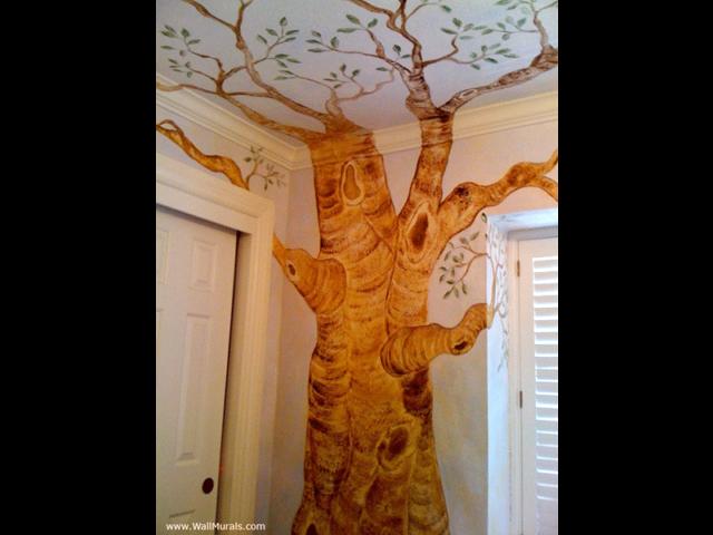 Artistic Tree Mural