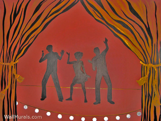 Musical Mural on Stage