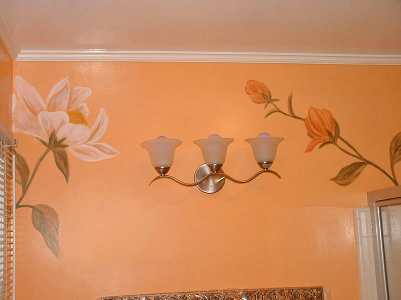 Bathroom Wall Murals Painted Powder Rooms Wall Murals