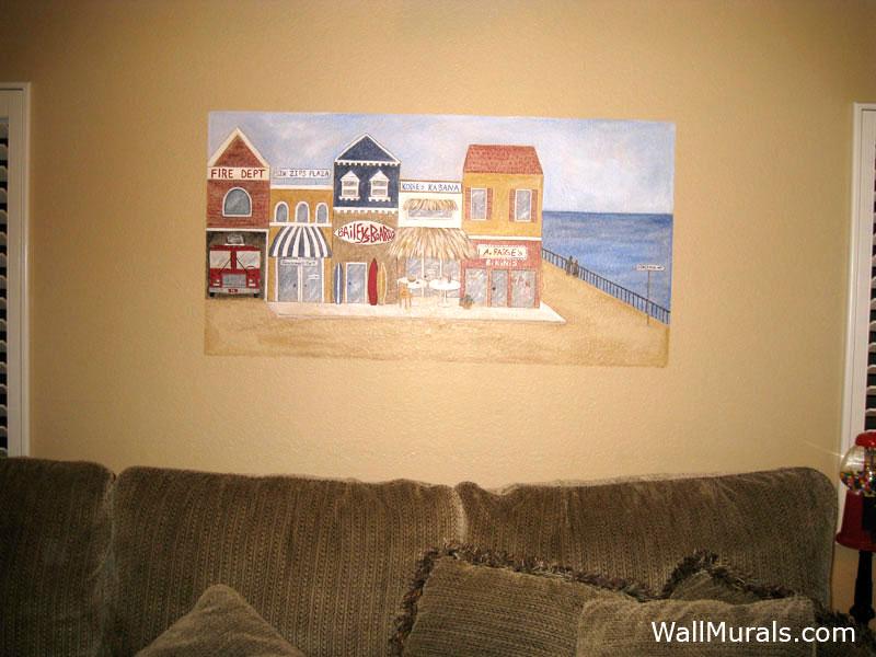 Beach Shop Wall Mural
