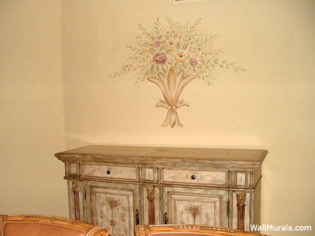 Dining Room Wall Mural