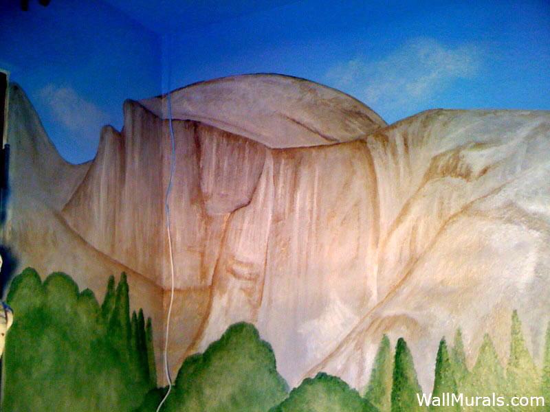 Half Dome Wall Mural - Yosemite Park