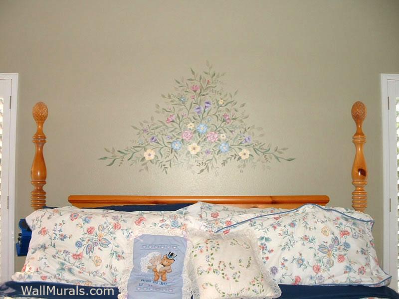 Painting above Headboard in Master Bedroom