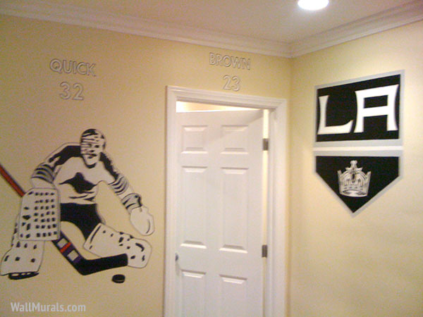 Hockey Mural - Kings Logo