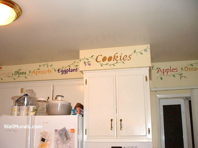 Kitchen Wall Murals