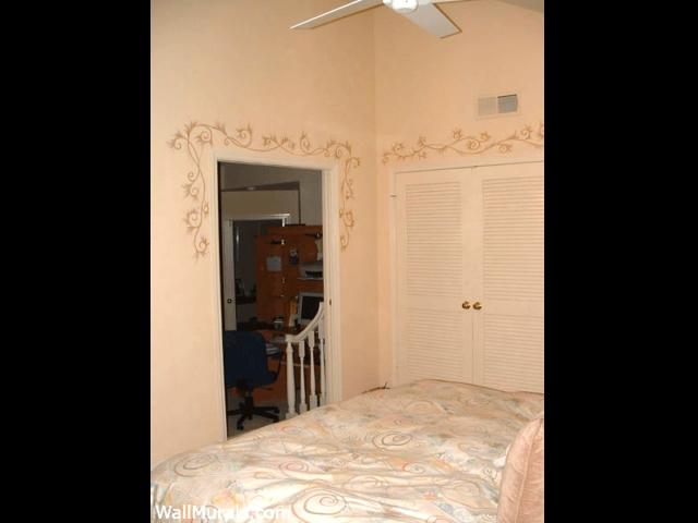 Master Bedroom Painted Border