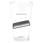 Personalized Music Drinking Glass