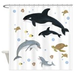 Ocean Animal Shower Curtain
