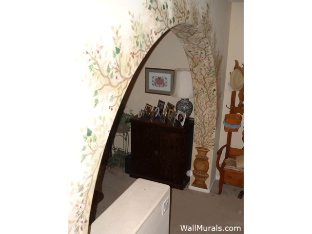 Painted Arch Mural Accent
