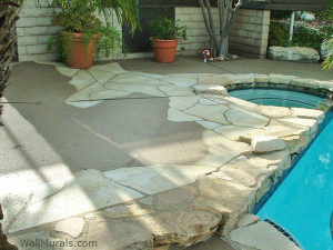 How To Paint Cement Stones Video