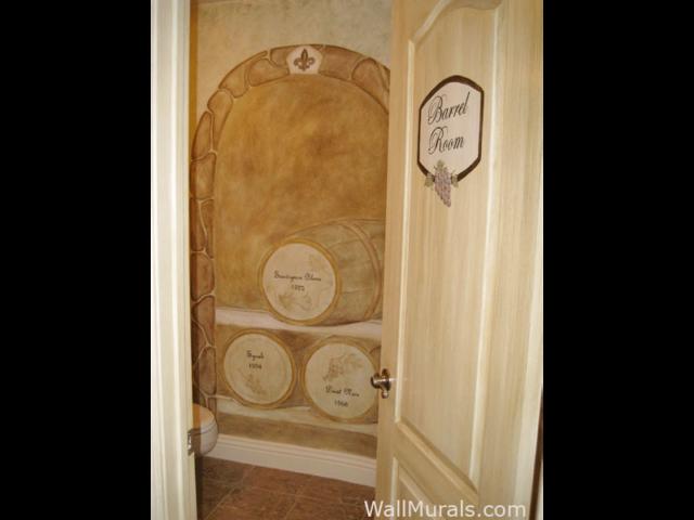 Barrel Room Mural