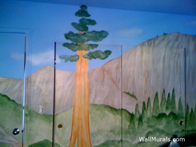 Yosemite Park Wall Mural