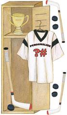 Personalized Hockey Locker