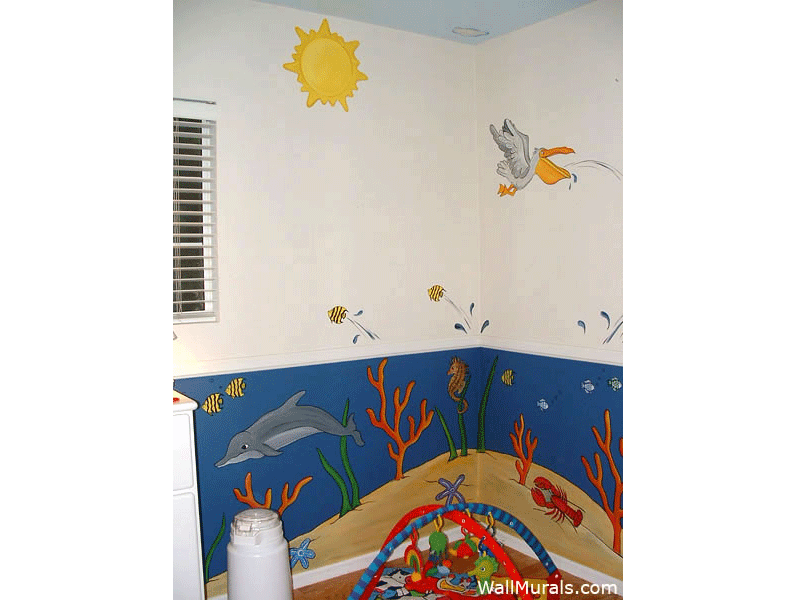 Baby Room Wall Murals