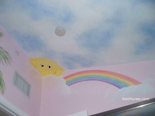 Baby Room Ceiling Mural
