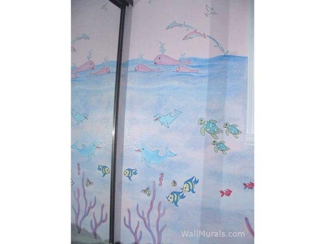 Under the Sea Baby Room Mural