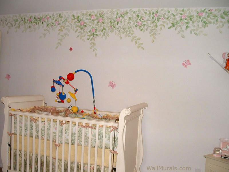 Hand-painted Border in Nursery