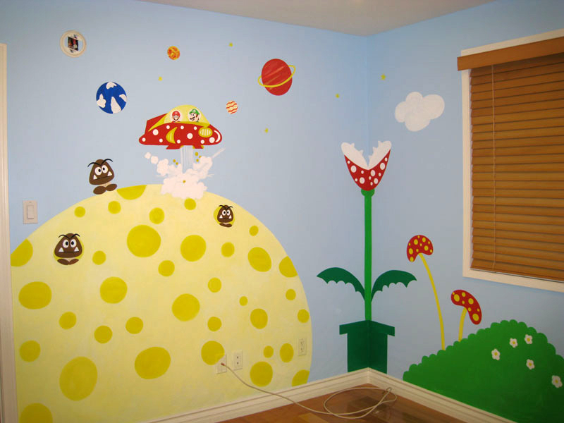 Baby Room Wall Murals - Nursery Wall Murals for Baby Boys & Baby ...