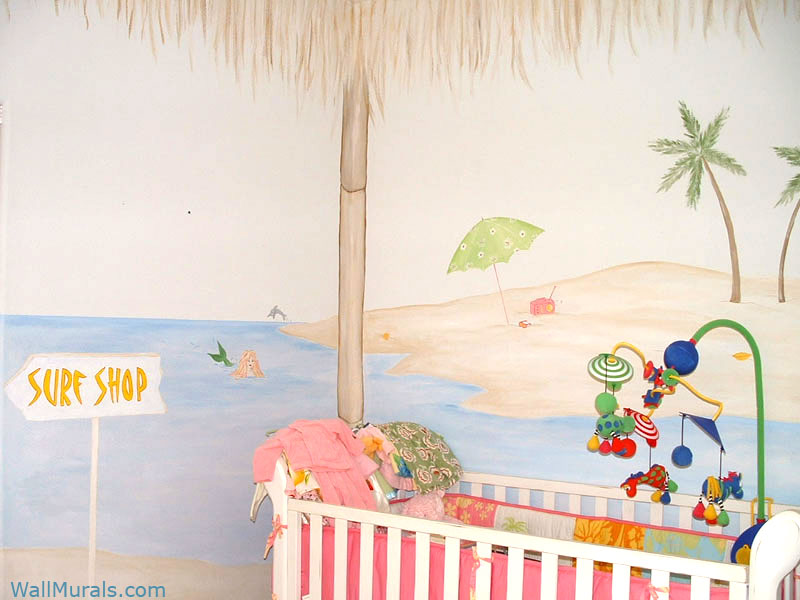Ocean Wall Mural In Nursery Part 81