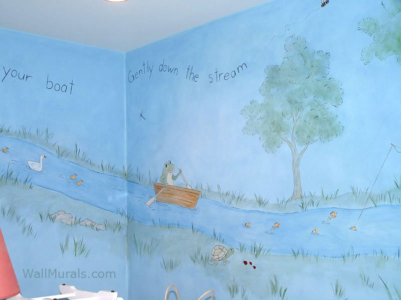 Row Your Boat Mural