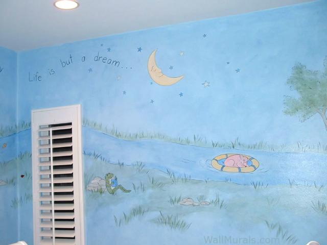 Baby Room Wall Mural