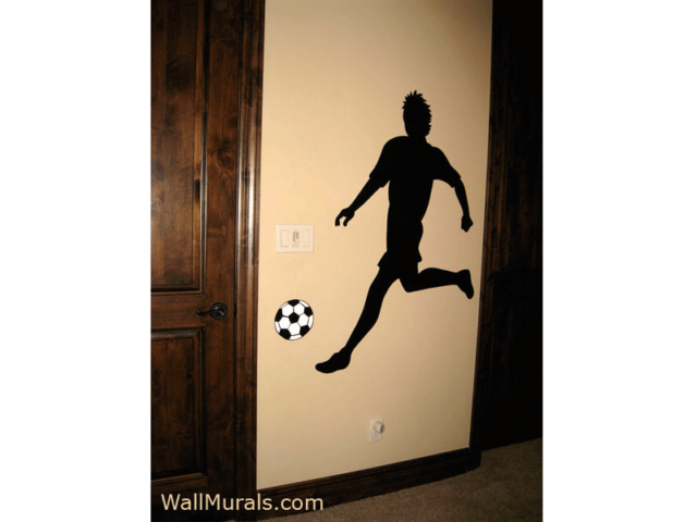 Soccer Wall Mural for Boy
