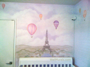 Paris Baby Room