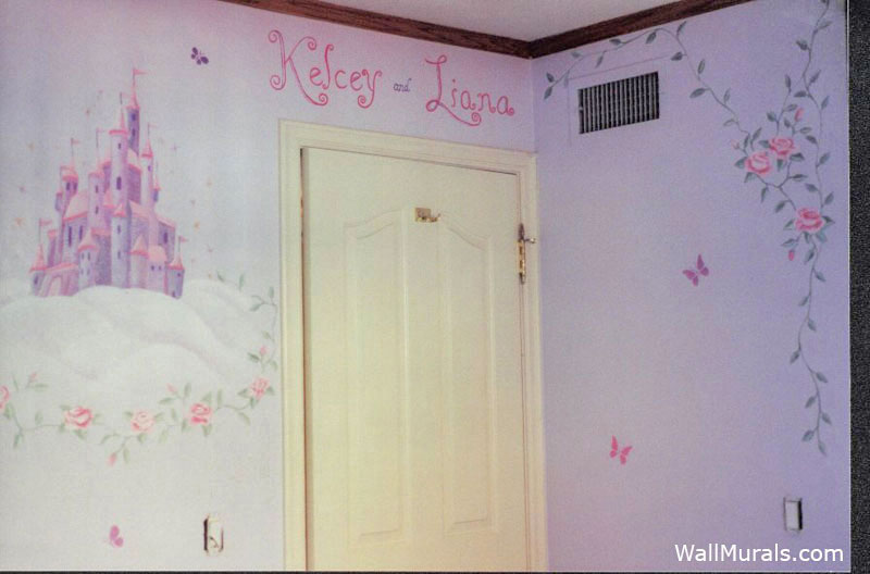 castle rose wall mural - photo #39