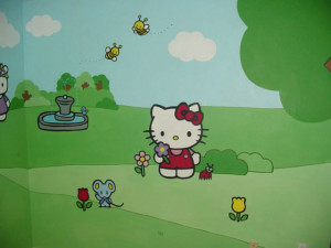 Hello Kitty Baby Nursery