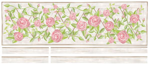 Lattice Rose Decal Sheet